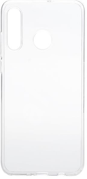 Epico Ronny Gloss Case for Huawei P30 Lite - White Transparent - Mobile Case