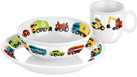 Tescoma Dining set BAMBINI - cars - Children's Dining Set