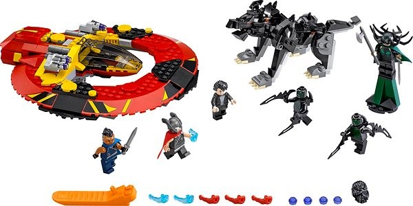 LEGO Super Heroes 76084 The Ultimate Battle of Asgard - Building Kit