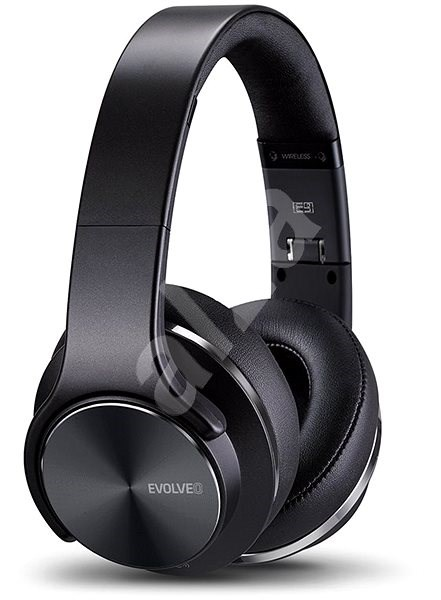 EVOLVEO SupremeSound E9 Black - Headphones with Mic