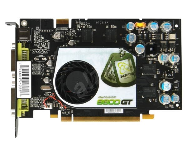 XFX XXX Edition NVIDIA GeForce 8600GT - Graphics Card