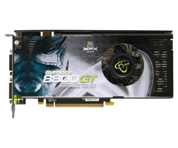 XFX XXX Edition NVIDIA GeForce 8800GT  - Graphics Card
