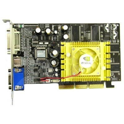 NVIDIAGeForce FX-5700, 128 MB DDR, AGP8x, DVI - Graphics Card