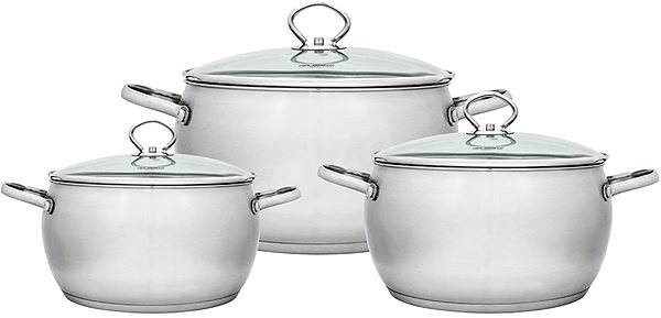 Florina SATYNA ALEX 5K4851 - Pot Set