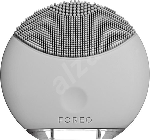 FOREO LUNA Mini facial cleansing brush, Cool Grey - Cleaning Kit