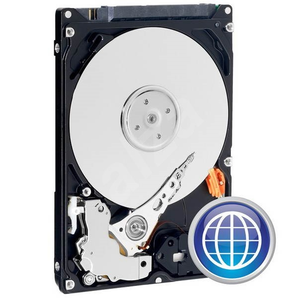 "Western Digital 2.5 ""Scorpio Blue 320 GB 8MB cache - Hard Drive"