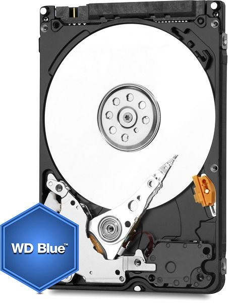 "WESTERN DIGITAL 2.5"" Scorpio Blue 750GB 8MB cache with Advanced Format - Hard Drive"
