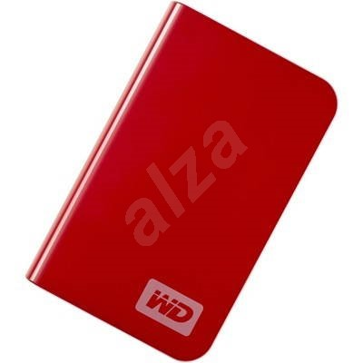 WD My Passport Essential 320GB červený (red) - External Hard Drive