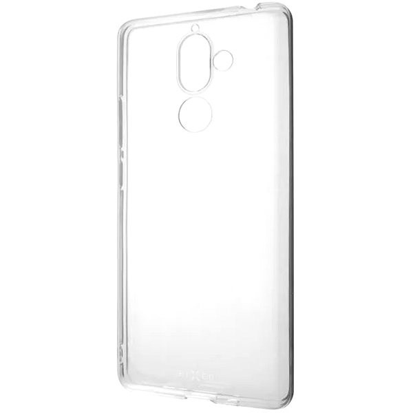 FIXED Skin for Nokia 7 Plus Clear - Mobile Case