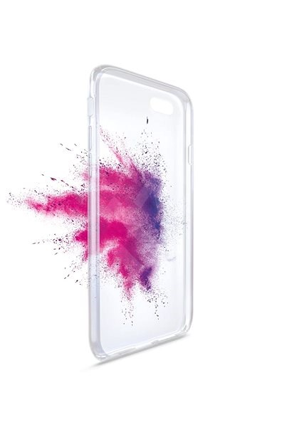 FIXED TPU back cover for Huawei P20, clear - Mobile Case