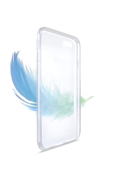 FIXED Skin for Huawei P20 Lite Transparent - Mobile Case