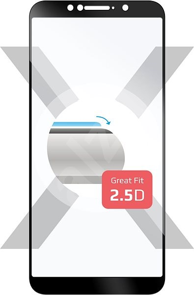FIXED Full-Cover for Asus ZenFone Max Pro (ZB602KL)/(M1) (ZB601) Black - Glass protector
