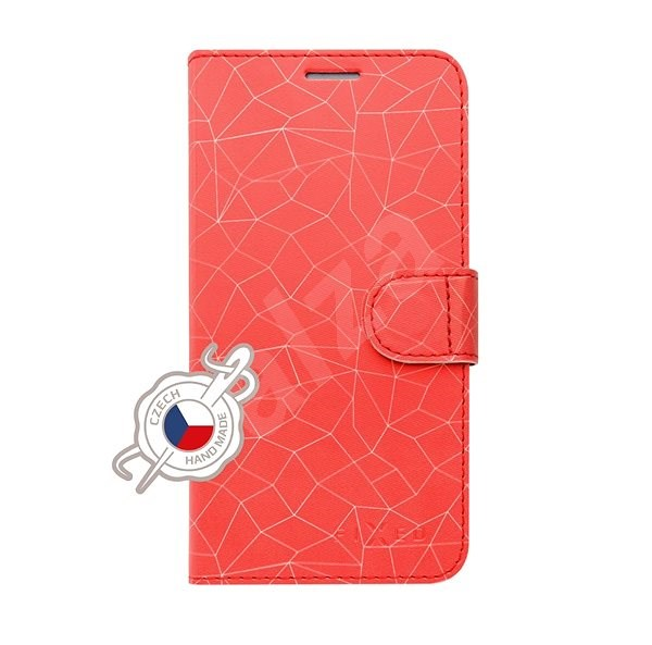 FIXED FIT for Samsung Galaxy A40 Red Mesh - Mobile Phone Case