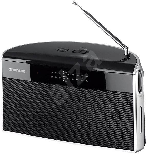GRUNDIG Music 80 silver-black - Portable Radio