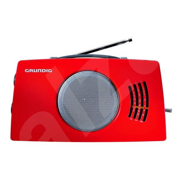 GRUNDIG RP 4900 red-black - Radio