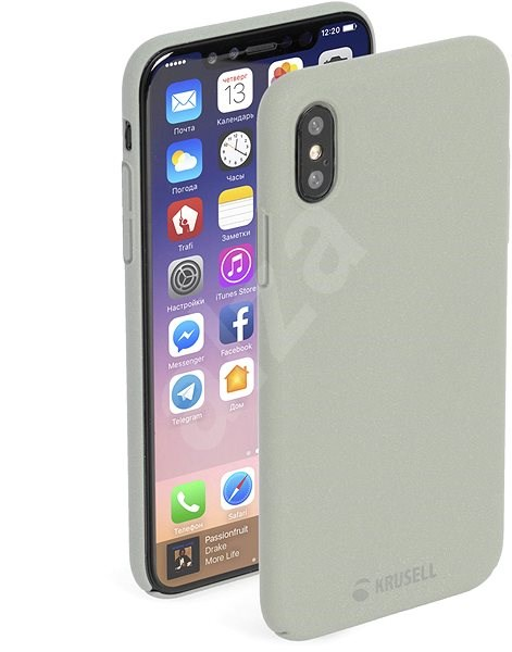 online retailer 8e4ae 6ee04 Krusell SANDBY for Apple iPhone X, Sandstone - Protective Case ...