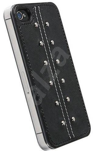 Krusell KALIX Undercover for Apple iPhone 4S black - Rear Cover