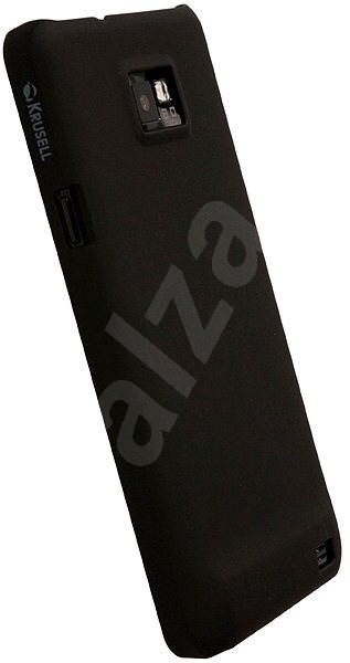 Krusell COLORCOVER Samsung I9100 Galaxy S II black - Rear Cover