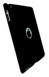 Krusell COLORCOVER Apple iPad 2/3 Black - Rear Cover