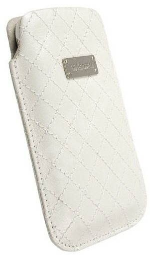 Krusell AVENYN (COCO) L Long White - Mobile Phone Case