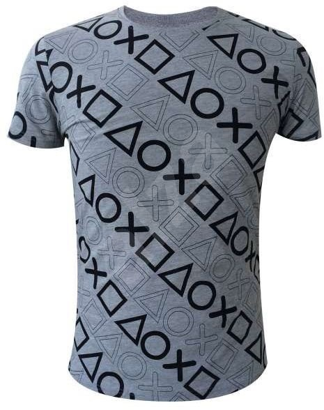 Playstation - Button theme - gray S - T-Shirt