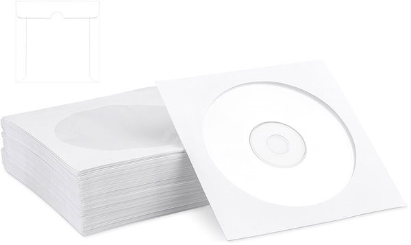 COVER IT scuttles paper, packaging 100pcs - CD/DVD Case