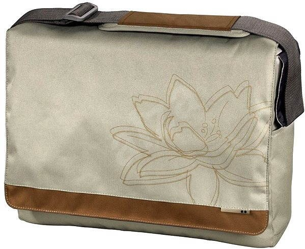 "AHA: Plant Messenger 15.6"" beige - Laptop Bag"