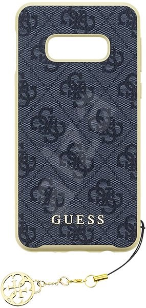 Guess Charms Hard Case 4G Grey for Samsung G970 Galaxy S10e - Mobile Case