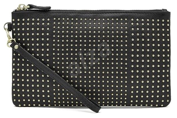 Hbutler Mightypurse Wristlet Black with Small Studs - Laptop Bag