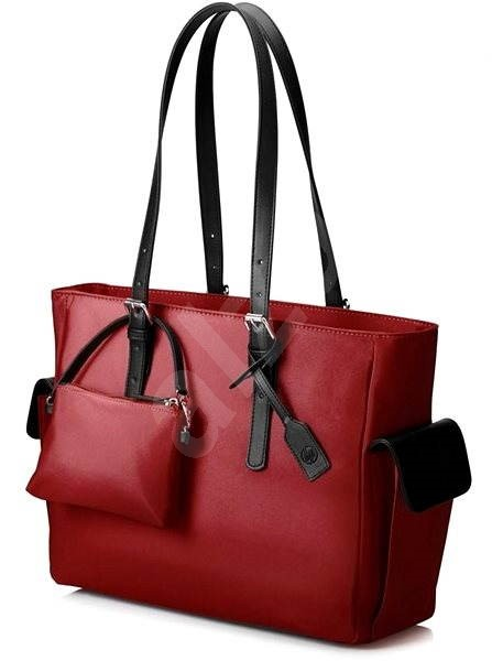 "HP Ladies Slim Tote Red 14"" - Laptop Bag"
