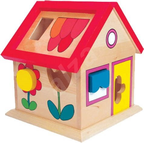 House with shapes - Villa Florina  - Educational toy