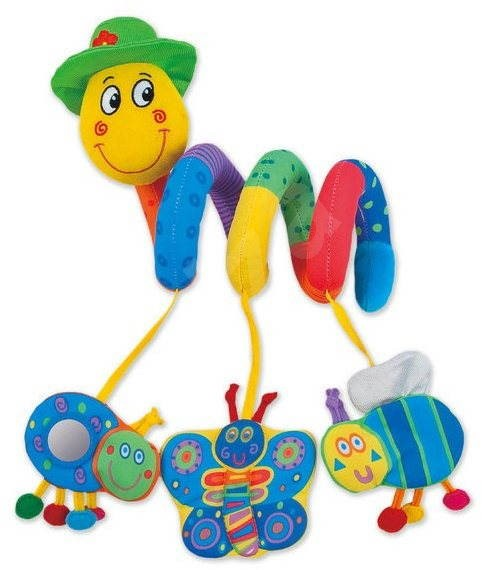 GALT Wiggly Worm - Cot Toy