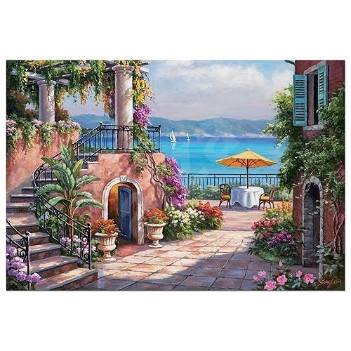 Terrace, Tuscany 3000 pieces  - Puzzle