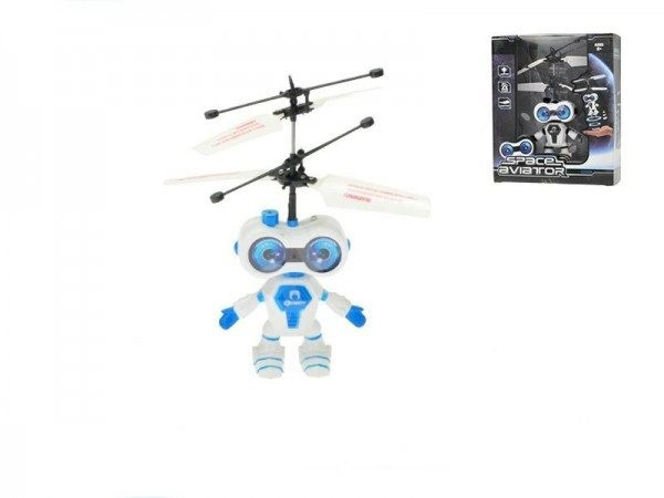 Teddies Helicopter Space Aviator Blue - RC Model
