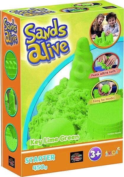 Sands Alive! Colored sand green - Creative Kit