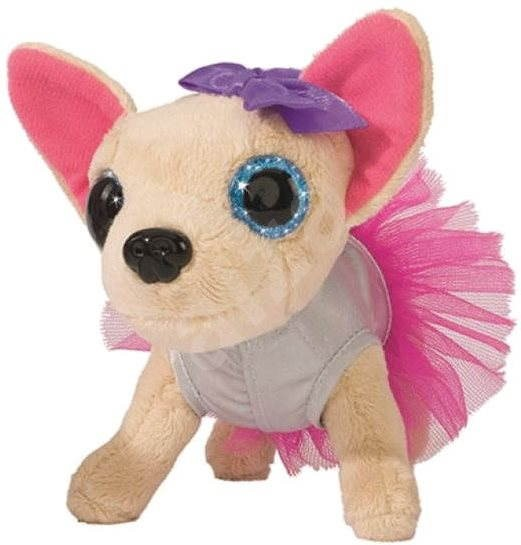 Chichi Love - Love Chichi - Chihuahua ballerina white with pink dress - Plush Toy