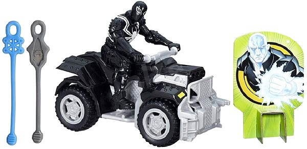 Spiderman - Action Figure racing vehicle (SUPPORTING LINE) - Figure