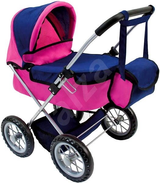 Bino Baby doll with bag - Doll Stroller