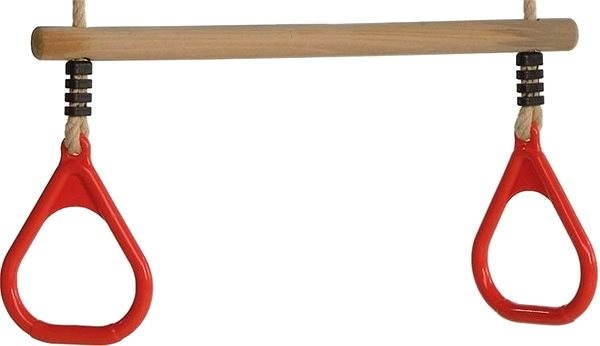 CUBS wooden bar with plastic handle - red - Playset Accessories
