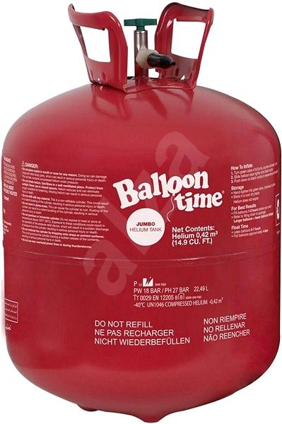 Balloon Time Helium Tank 50