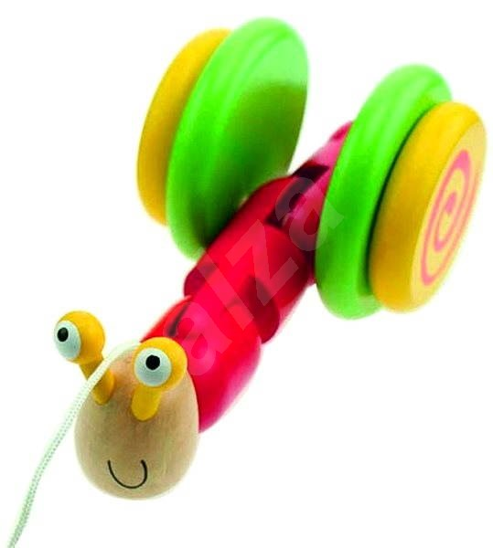 Pull-along toys - Pull-along Snail - Push and Pull Toy
