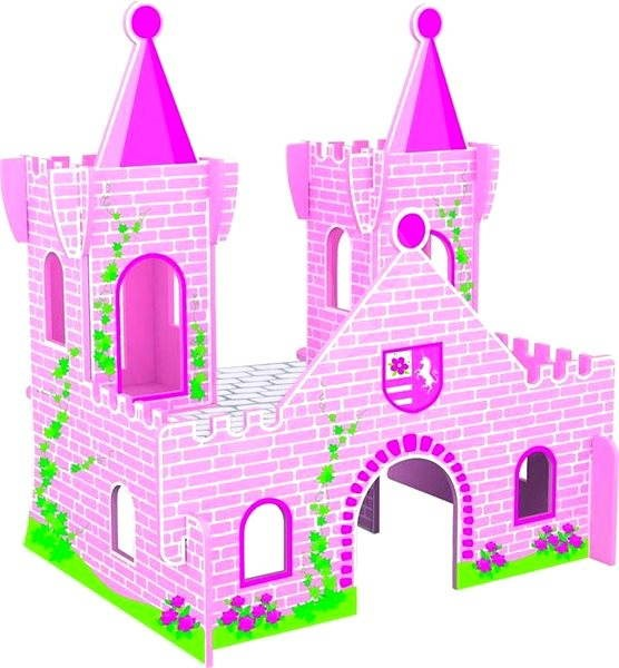 The castle of Sleeping Beauty - Game set