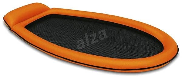 Inflatable mattress with mesh orange - Inflatable Deckchair