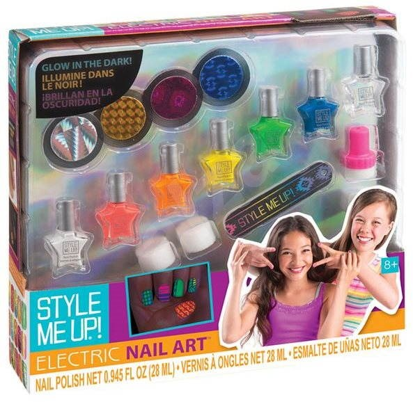 Style Me Up Glow In The Dark Nail Set Beauty Set Alza Co Uk