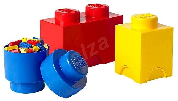 LEGO Storage Boxes - Multipack 3 pieces - Storage Box