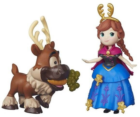 Frozen Little Kingdom - Little Doll Friends Anna and Sven - Doll