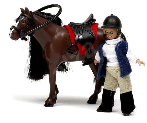 Lundby Smaland - Girl and horse - Figure Set