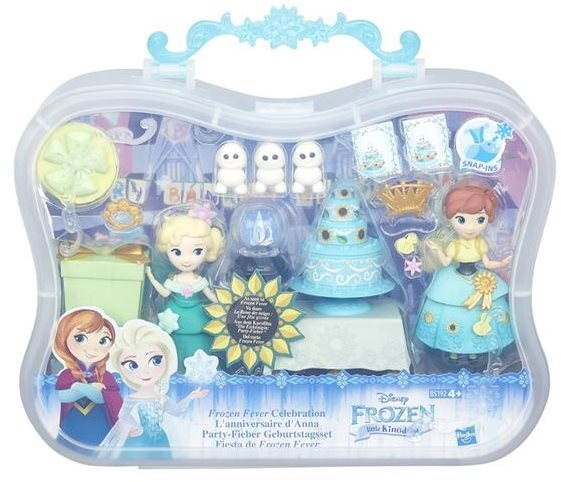 Ice Kingdom - Set small dolls with accessories - Game Set