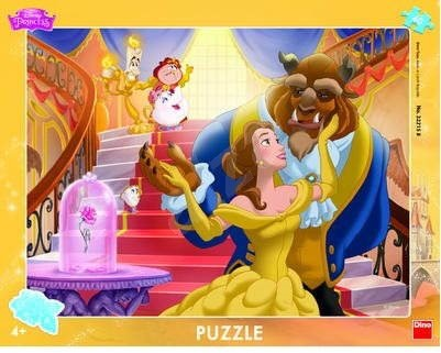 Dino Toys Beauty And The Beast Frame Puzzle Puzzle Alzacouk
