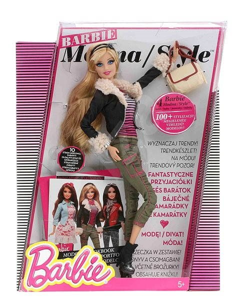Barbie - Fashion Icon in leather jacket  - Doll
